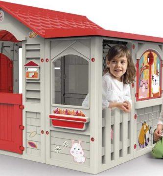 Casa infantil plástico