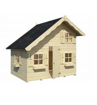 casas de madera para el jardin
