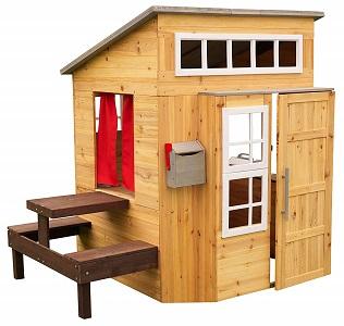 KidKraft Outdoor Playhouse casa infantil madera jardin