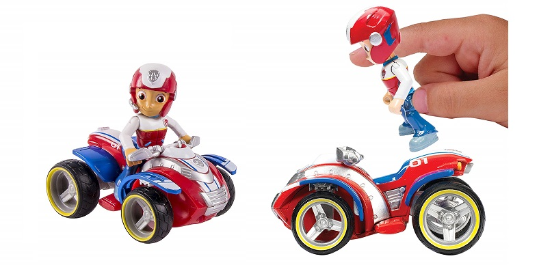 vehiculo ryder patrulla canina paw patrol
