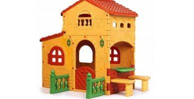 FEBER Grande villa Casita infantil para el jardín