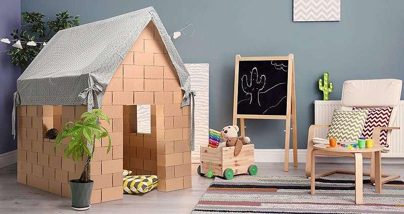 Gigi Bloks Casa de Juegos con Bloques de Construcción