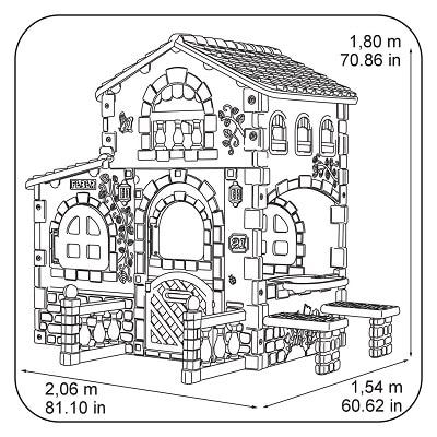 casita feber grande villa (Famosa 800008590)