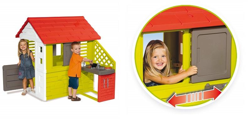 oferta casa infantil nature playhouse